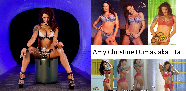 Amy Dumas Sexy pin on amy christine dumas aka lita