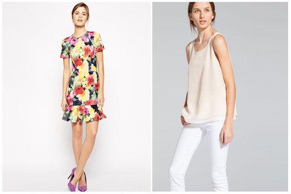 Las prendas más favorecedoras para un talle superior corto #siluetafemenina #consejos #trucosdeestilismo