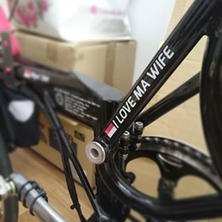 VeloInk Makes Custom Top Tube And Wheel Decals With Your Name - Custom vinyl decals bicycle