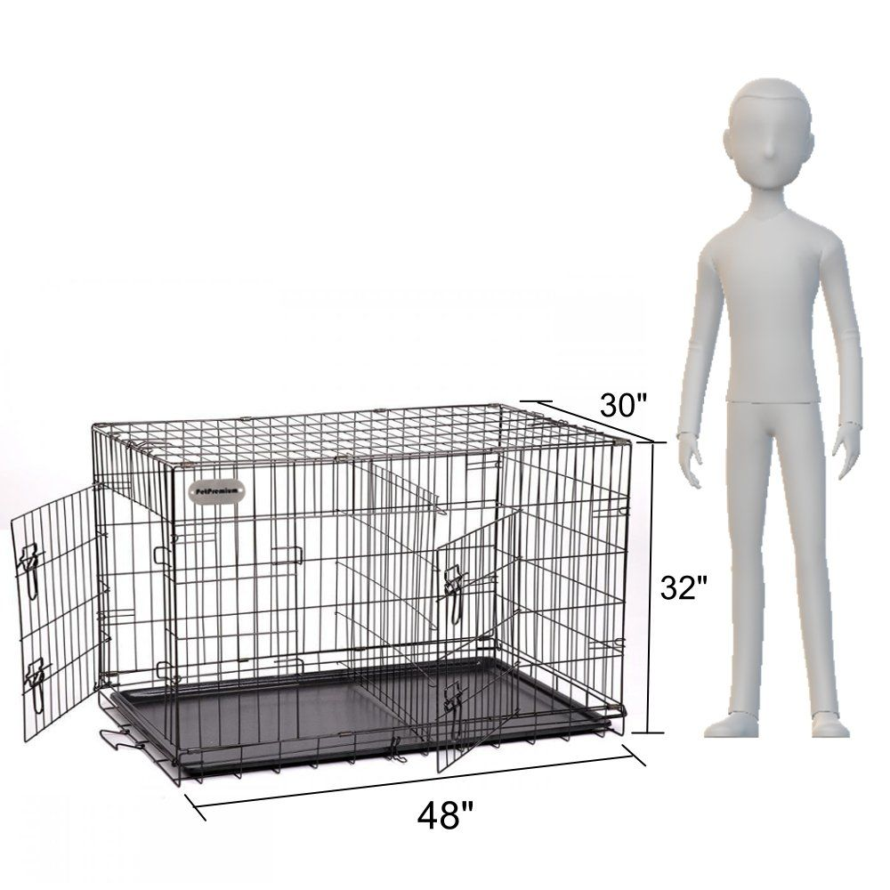 Petpremium Extra Large Dog Crate Xxl Pet Carrier Travel Cage