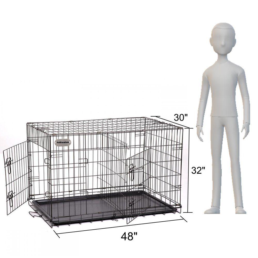 Petpremium Extra Large Dog Crate Xxl Pet Carrier Travel Cage