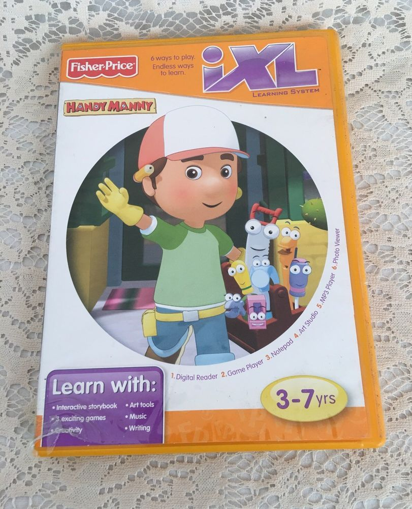 Disney Handy Manny Fisher Price iXL Learning System