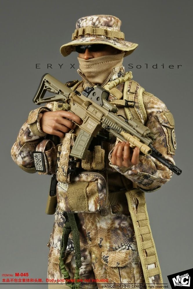 MC TOYS 1/6 scale ERYX Soldier outfit set for 12 inch figure