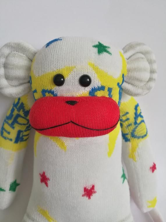 sock monkey, ce marked, monkey. sock monkey toy,sock toy, soft toy, jungle animal,socks, novelty soc #sockmoneky