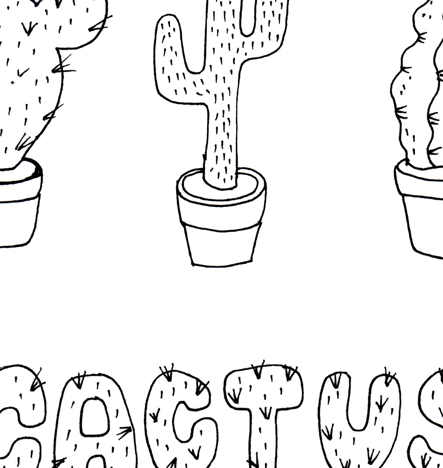 Un pedacito de Cactus, la ilustración que Hurra nos ofrece para ...