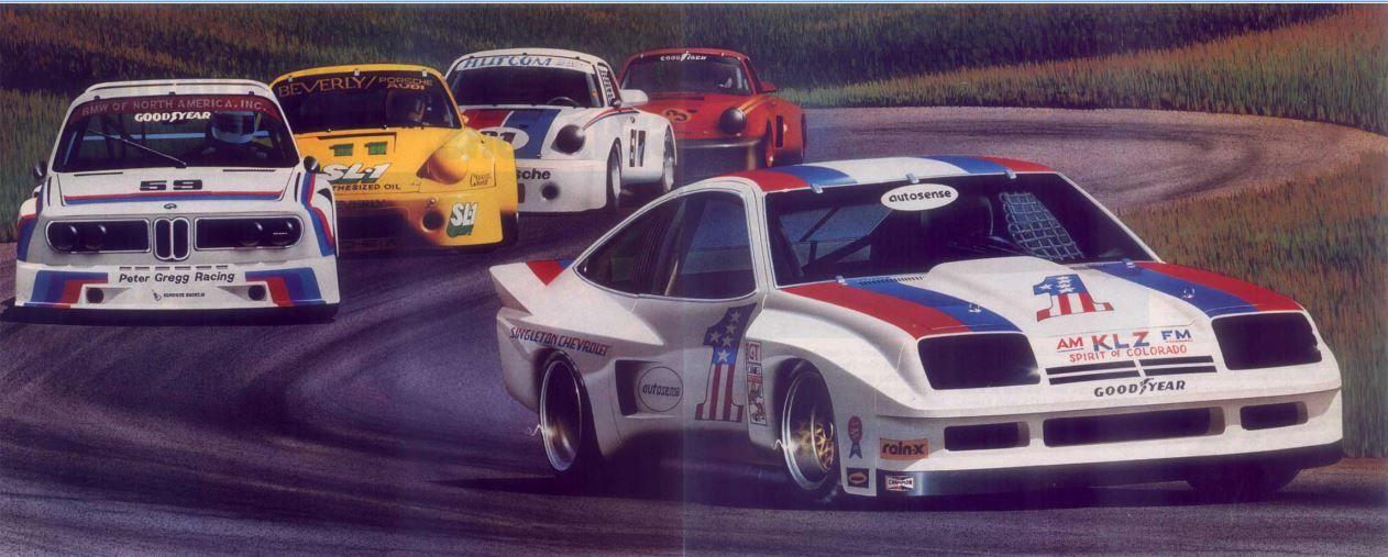 Chev Monza Imsa Dekon Racin Car Dream Cars Vehicles