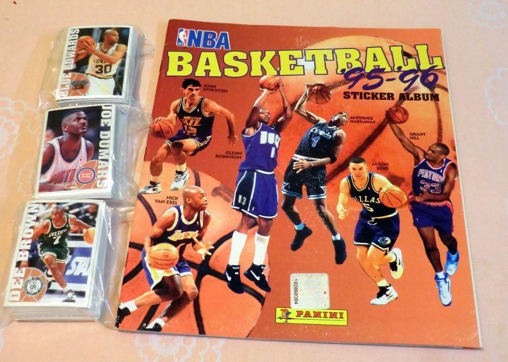 NBA Basketball Panini 1995 1996 95 96 Album and complete
