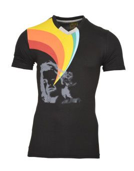 2Dude Rainbow Shadow Mens Round NeckT-Shirt Rs. 649.00 Rs. 249.00