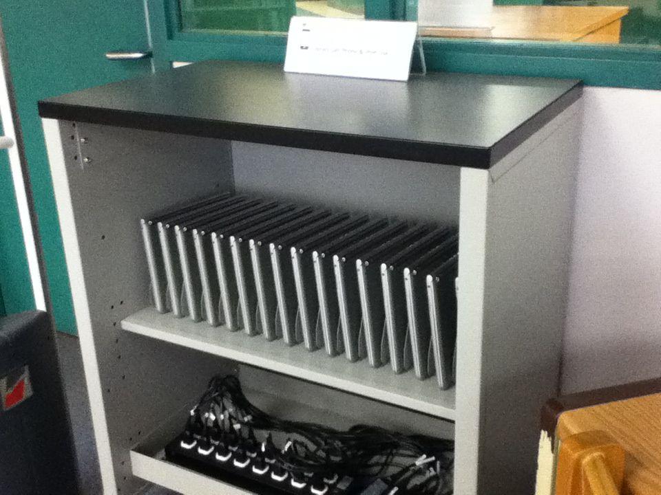 Diy Chromebook Charging Station Chromebook Storage Classroom Storage Chromebook