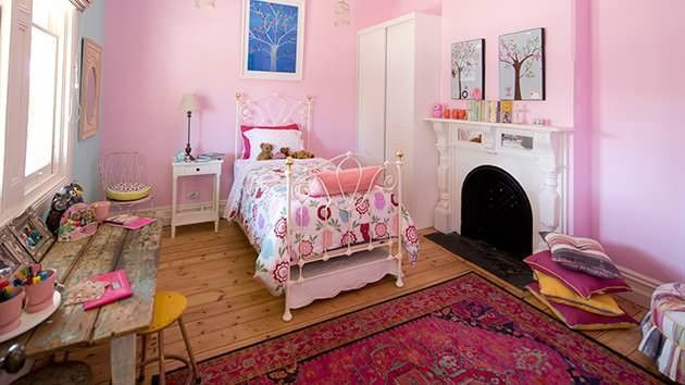 Kids Bedroom 2014 house rules 2014 - bomber & mel's house - little girl's bedroom