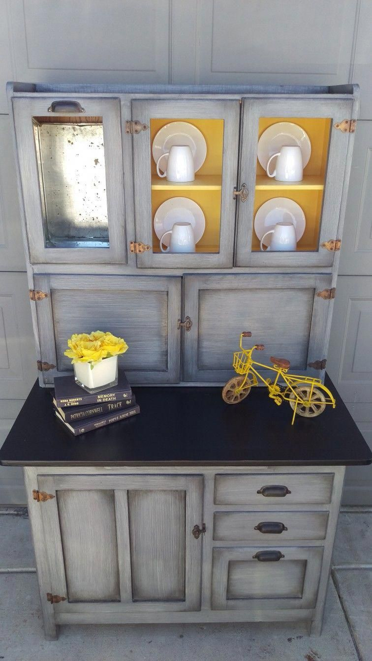 This Is Two Coats Annie Sloan Paris Gray Then Diluted Graphite Brushed Off With A Dry Brush In Painting Kitchen Cabinets Best Kitchen Cabinet Paint Furniture