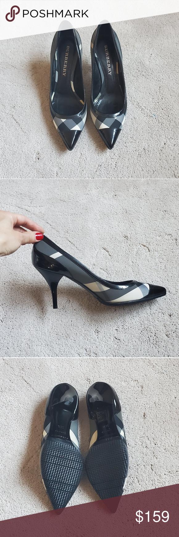 Burberry heels (US 6.5/Euro 36.5) in