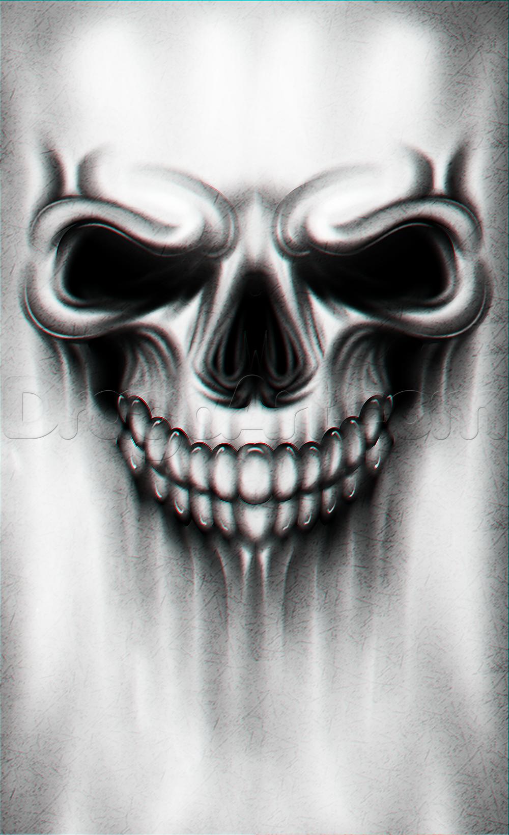 Photo of Ein Skull Tattoo Drawing Tutorial, Schritt für Schritt, Tattoos, Popkultur, KOSTENLOS Online …