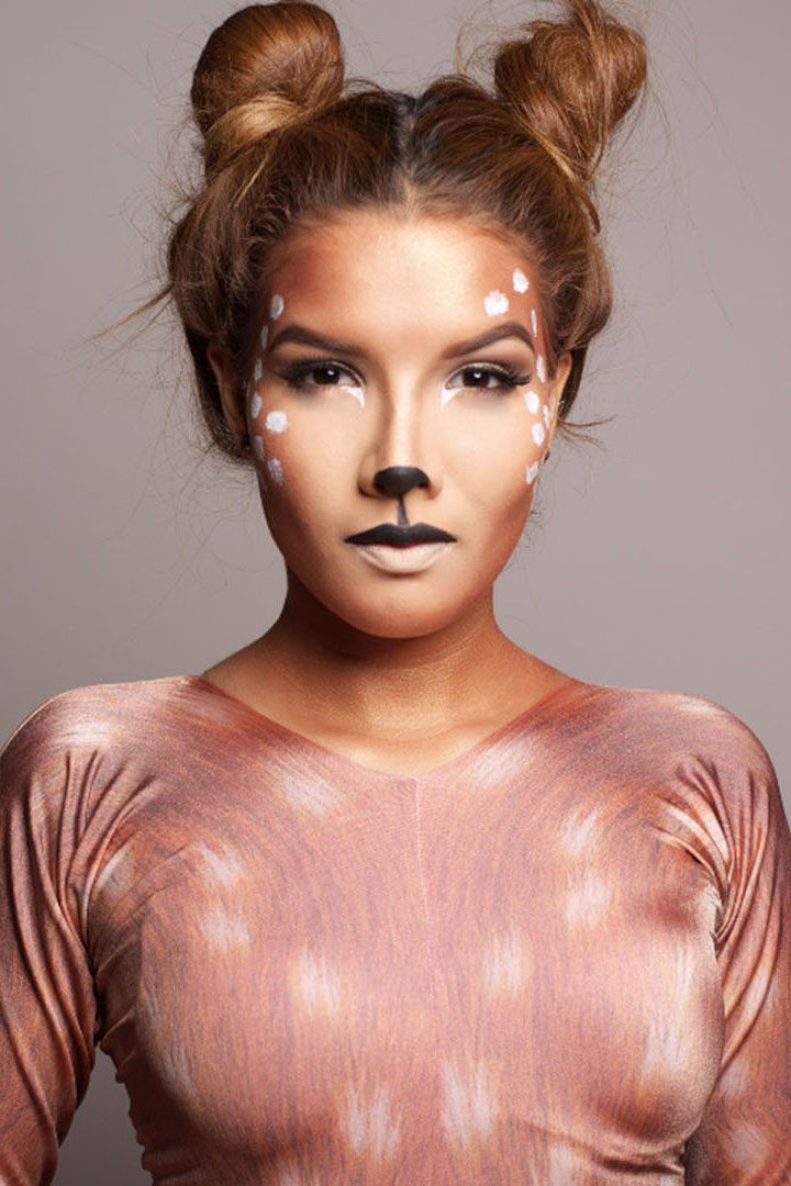 Image result for bambi and thumper costumes Deer makeup