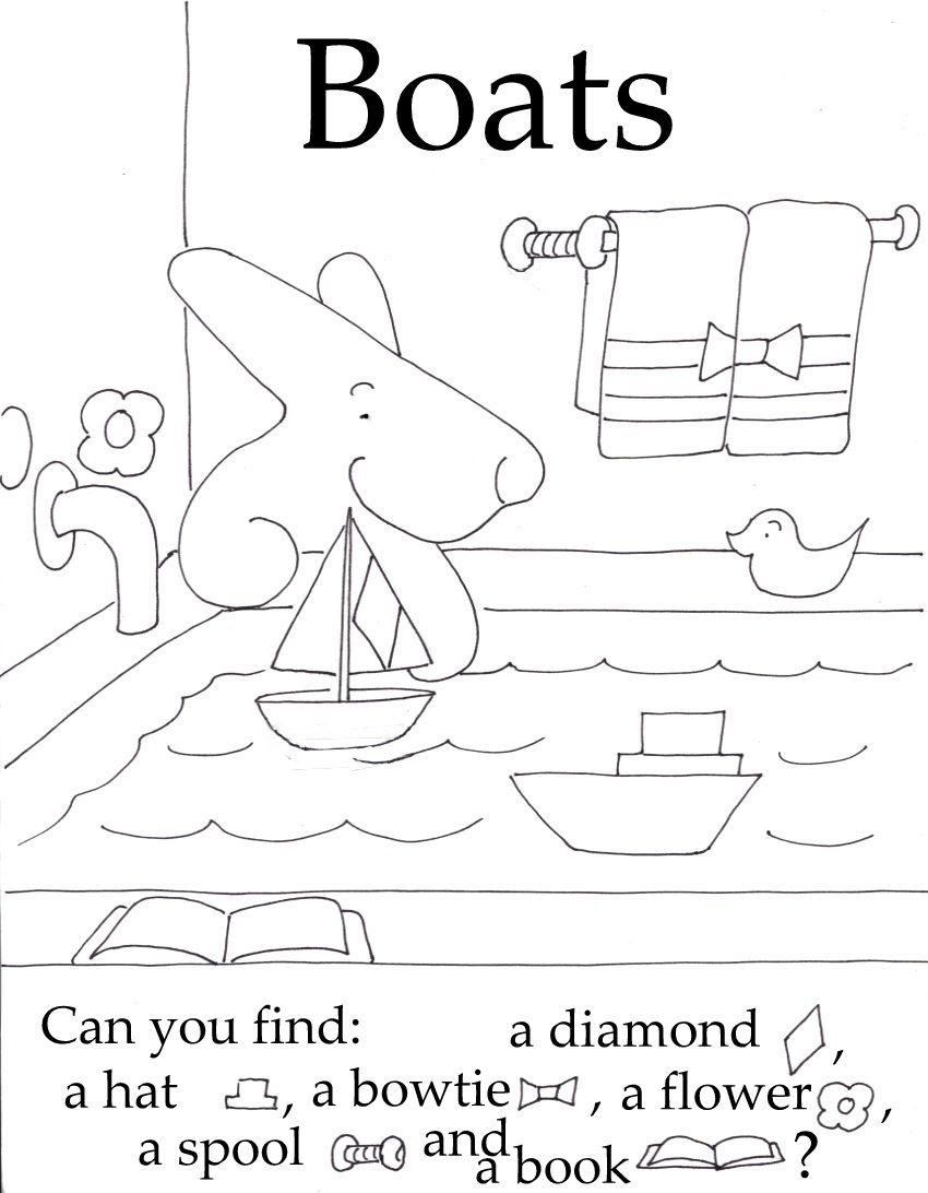 Seek And Finds Fun Preschool Worksheets Preschool Letters Hidden Pictures