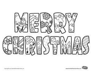 Herald Store Free Christmas tree coloring pages Arts Crafts