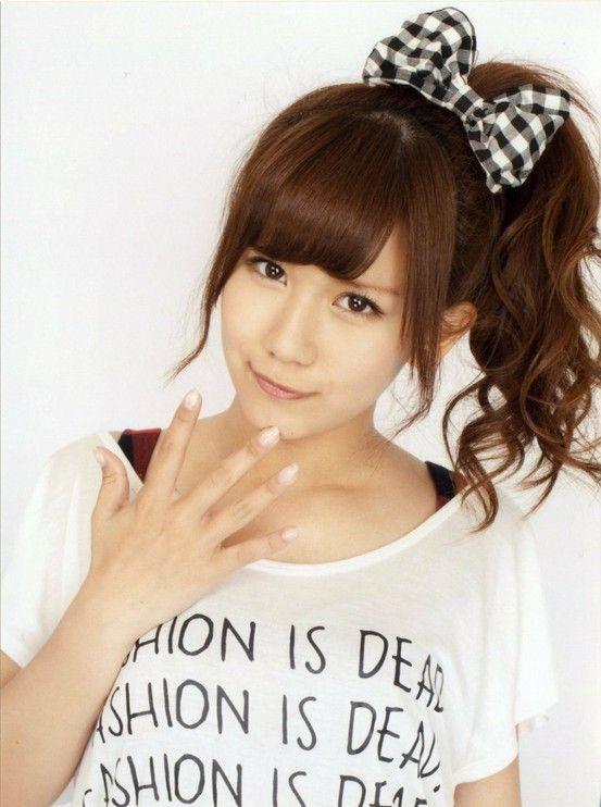 Okai Chisato Kawaii Hairstyle Bow Hairstyle Kawaii Hairstyles