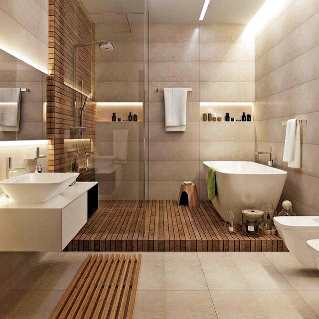 "Daphne Deco on Instagram: ""Bathroom Design  #picoftheday #salledebain #salledebainstyle  #bathroom #chicdesign #chicdecor #passiondeco #decoration #deco…"""