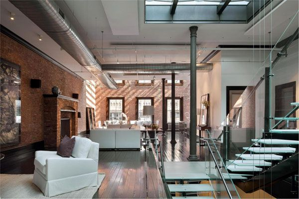 An amazing 50m loft in tribeca trendland fashion blog trend magazine