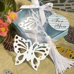 Butterfly Bookmark in Gift Box - A Wedding Less Ordinary