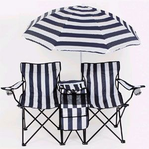 Twin Camping Chair With Cooler And Umbrella 91075 Lb Idollarstore Com Beach Chair Umbrella Camping Chair Umbrella