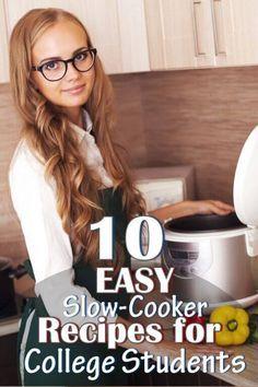 10 Crock Pot Recipes For College Students