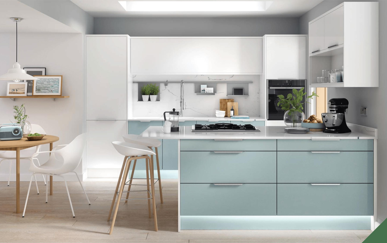 Clean Kitchen Furniture Trend 8 in 8  Kitchen design trends