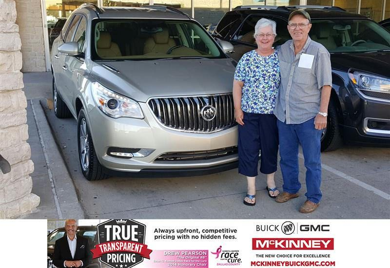 Congratulations Wanda And David On Your Buick Enclave From Mr
