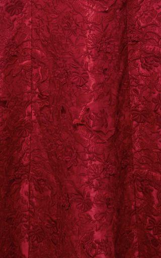 Floral Macramé Gown by GIAMBATTISTA VALLI Now Available on Moda Operandi