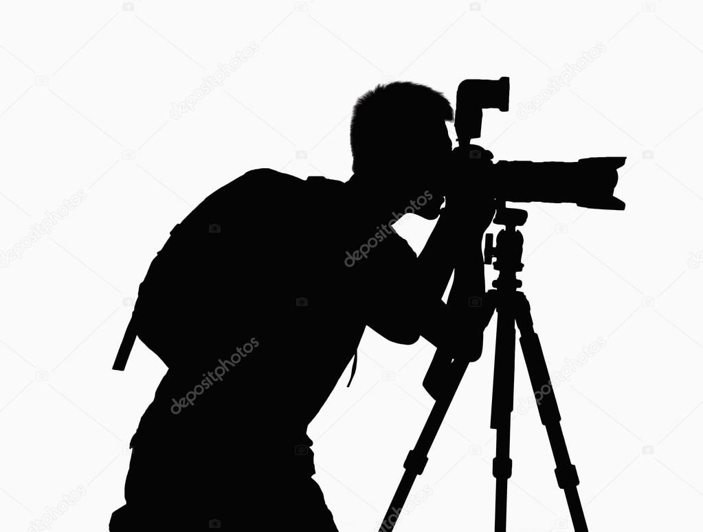 Silhouette Of Man Taking Pictures With Camera On Tripod Royalty Free Stock Image Affiliate Pictures Camer Camera Silhouette Silhouette Stock Images Free