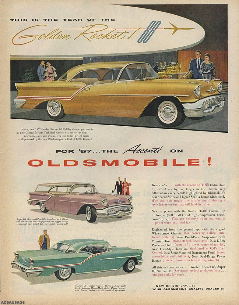 1957 Oldsmobile 88 Holiday Coupe