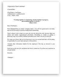 business welcome letter