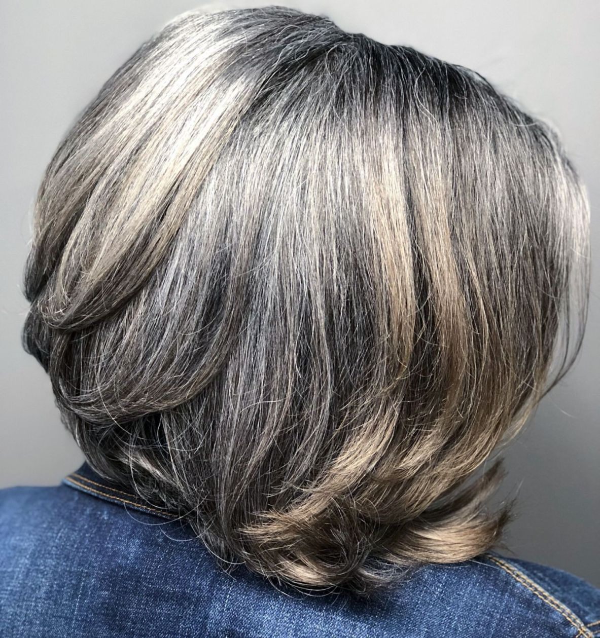60 gorgeous gray hair styles in 2019 | thick hair styles