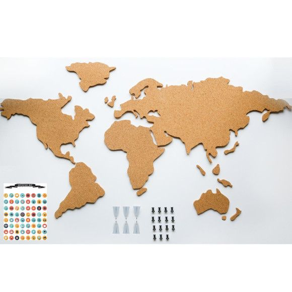 Adventure map cork world map cork walls and buy gifts online gumiabroncs Image collections