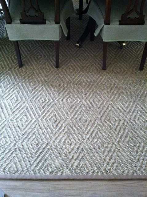 Patterned Sisal Rug But Neutral