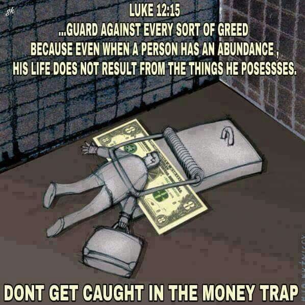 Money Trap Personal Bible Study Encouraging Scripture Bible Truth