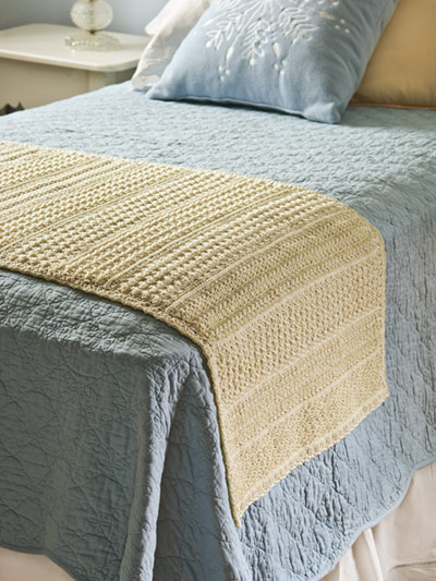 Hometown Bed Runner 9676 Pattern By Carla Malcomb Chunky Crochet Blanket Chunky Crochet Blanket Pattern Bed Scarf