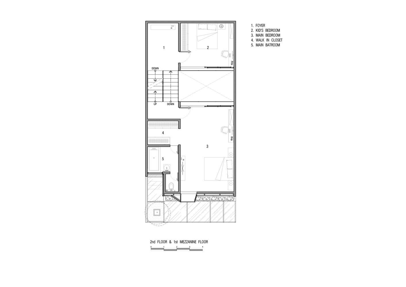 Gallery Of S House Semiotic Arsitek 16 House Floor Plans Second Floor