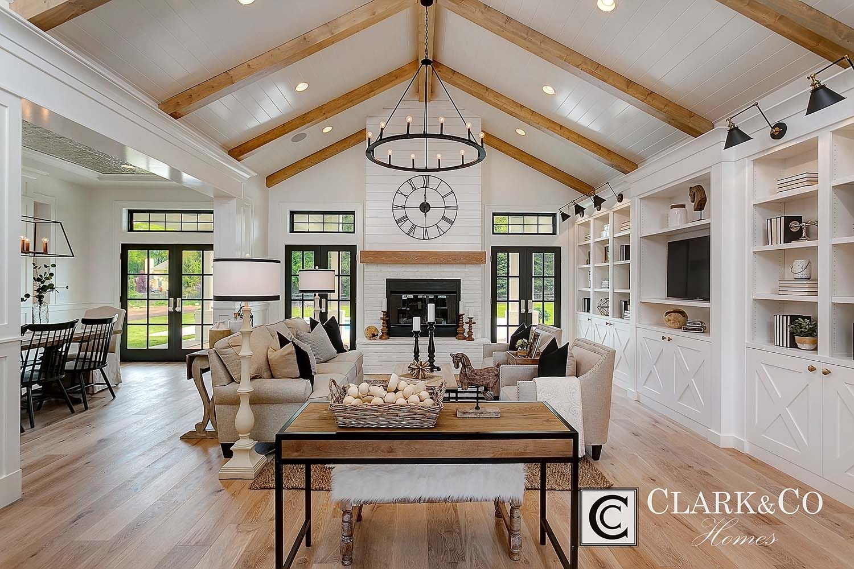 Absolutely stunning modern farmhouseinspired residence in