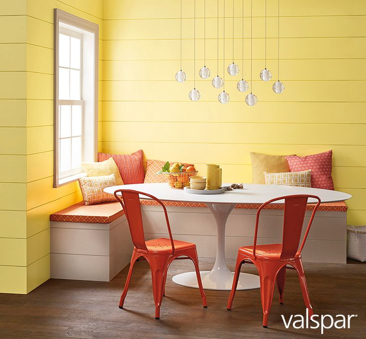 Yellow Paint For Kitchen Walls: Rise And Shine! Enjoy Your Morning Smoothie In This