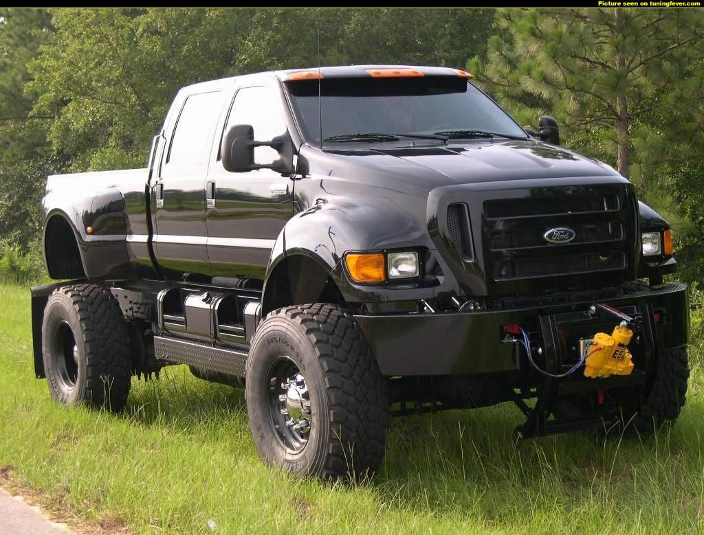 The ford f 650 concept truck is big the ford f 650 concept truck is - Ford F650 Super Truck
