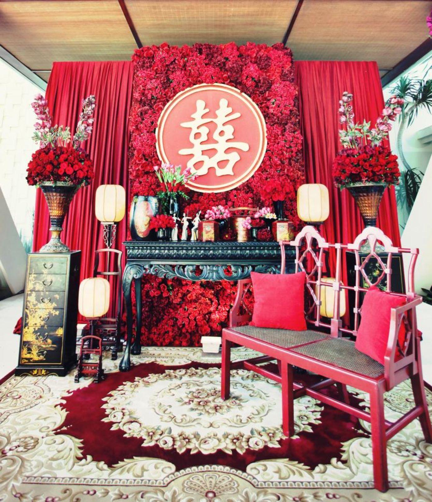 Arief & Isabelle | Chinese wedding decor, Chinese wedding ...