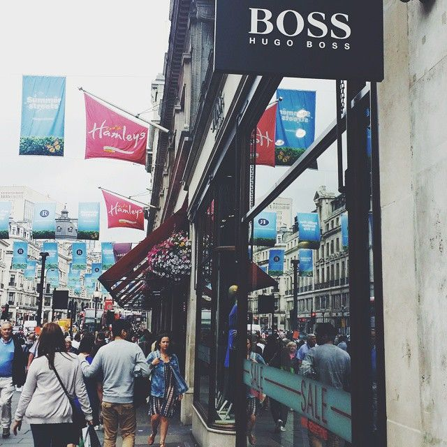 hugo boss oxford street