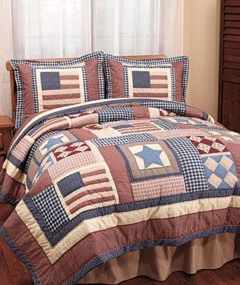 Americana Bedding Set Americana Patriotic Primitive