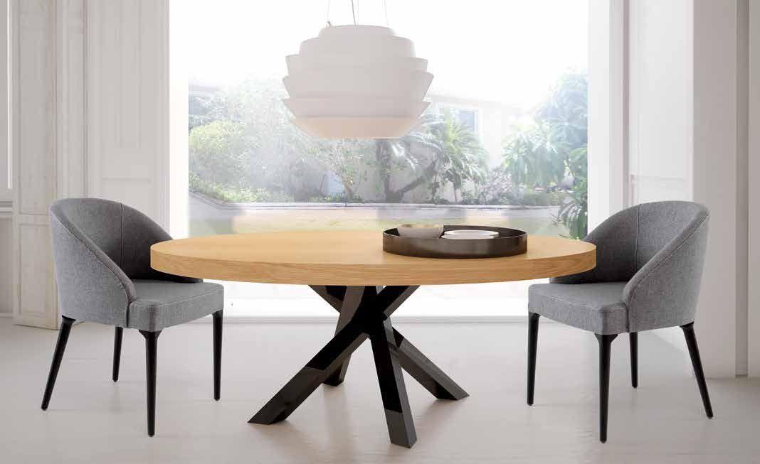Mesa comedor ovalada extensible - RDD0001 | mesas comedor | Pinterest