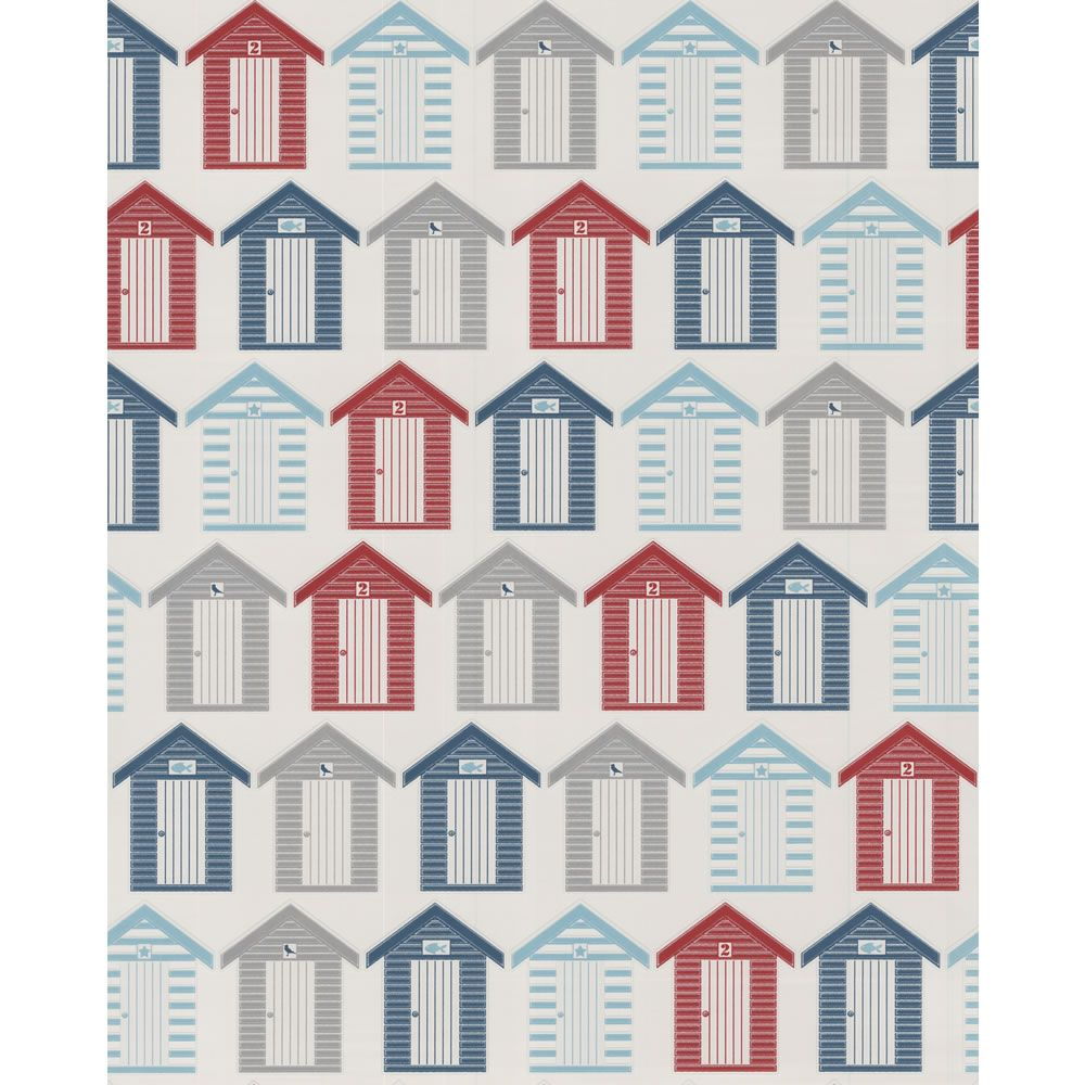 Contour Beside The Seaside Red Blue White Wallpaper 20 272 At