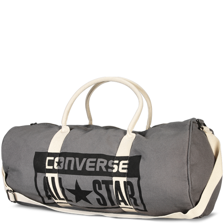 c88367063a Converse - Graphic Barrel Bag - Charcoal | Workout Wear in 2019 ...