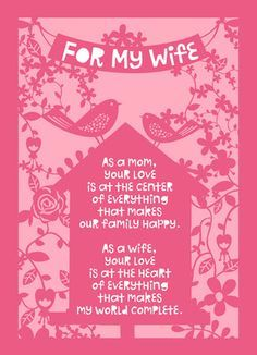 Hubby} Happy Mothers Day Quotes from Husband, Mothers Day 2016