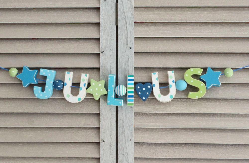 """kinderzimmer shabby chic, details zu """"julius"""" namenskette shabby chic kinderzimmer, Design ideen"""