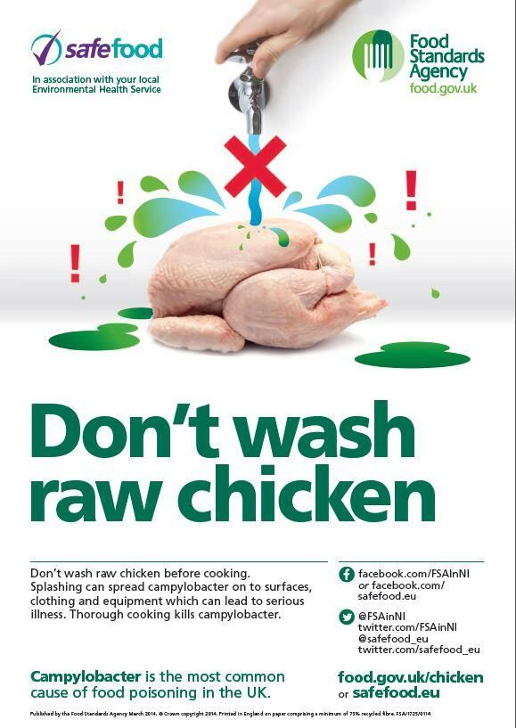 Safefood On Healthy Foods And Information Raw Chicken Cooking Food